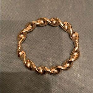 Bronco Italia Average  Ribbon Twist  Bracelet.